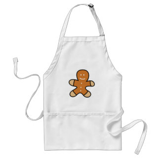 Gingerbread Man Cookie Standard Apron
