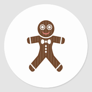 Gingerbread Man Cookie Stickers