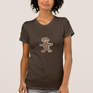 Gingerbread man cookie t-shirt