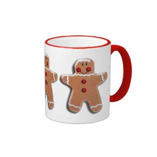 Gingerbread Man Cookies Coffee Mugs
