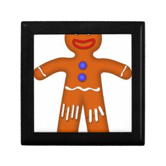 Gingerbread Man Drawing Gift Box