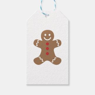 Gingerbread Man Drawing Gift Tags