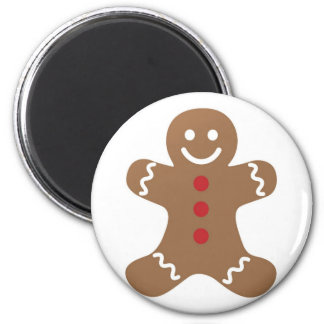 Gingerbread Man Drawing Magnet