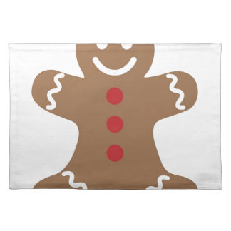 Gingerbread Man Drawing Placemat