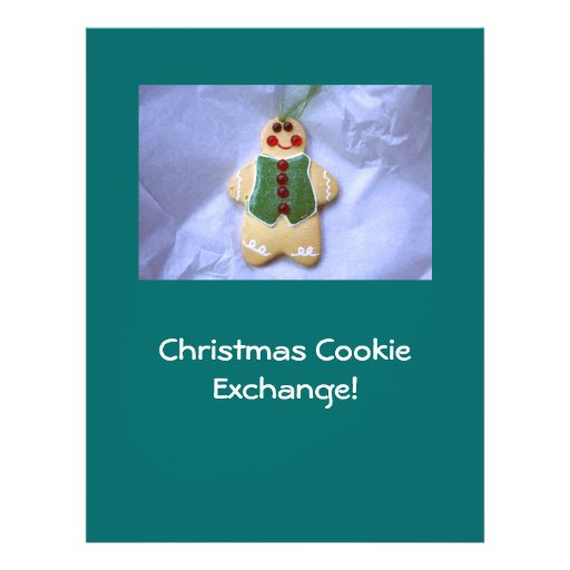 Gingerbread Man Flyer