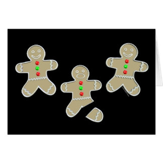 Gingerbread Man Got Hurt Card