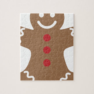 Gingerbread Man Jigsaw Puzzle
