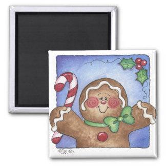Gingerbread Man Magnet