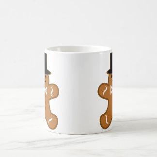 Gingerbread Man Basic White Mug