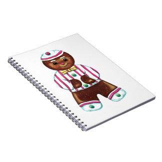 Gingerbread Man Notebook