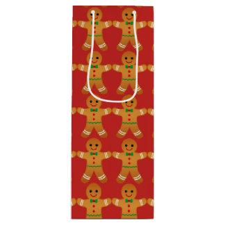Gingerbread Man Pattern - Christmas Gift Bag