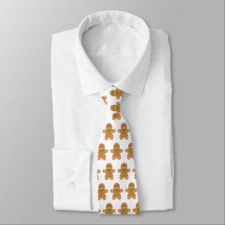 Gingerbread Man Pattern Tie