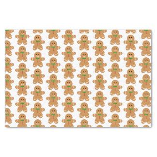 Gingerbread Man Pattern Tissue Paper