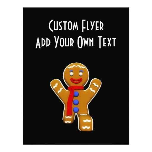 Gingerbread Man - Perfect Landing Full Color Flyer