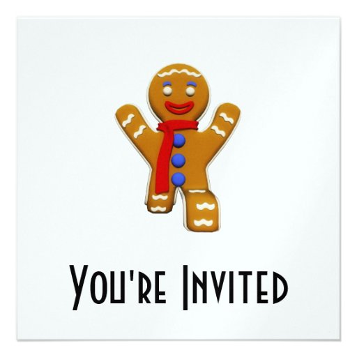 Gingerbread Man - Perfect Landing Announcement