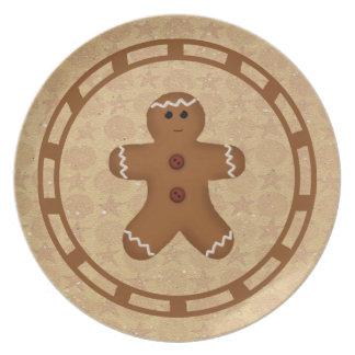 Gingerbread Man Plate