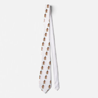 Gingerbread Man Tie