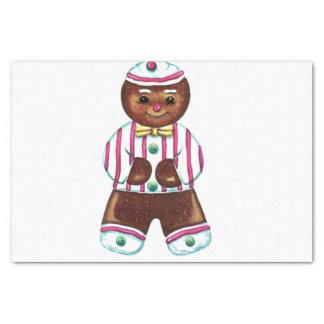 Gingerbread Man Tissue Paper