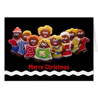 Gingerbread Men Christmas Card