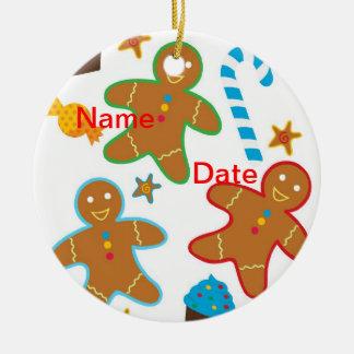 Gingerbread Men Christmas Ornament