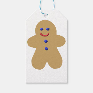 gingerbread men cookie gift tags