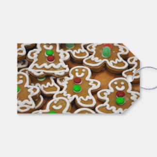 Gingerbread Men Gift Tags