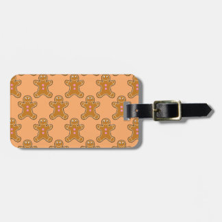 Gingerbread Men Luggage Tag