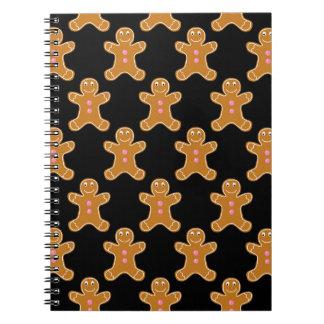 Gingerbread Men Notebook