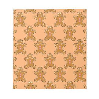 Gingerbread Men Notepads