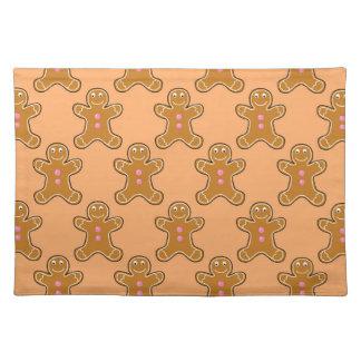 Gingerbread Men Placemat