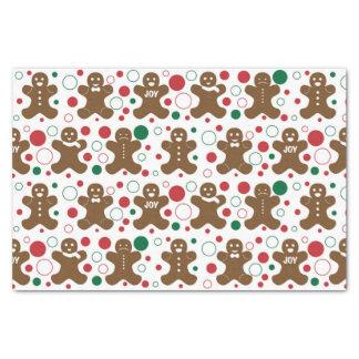 Gingerbread Men Tissue Paper