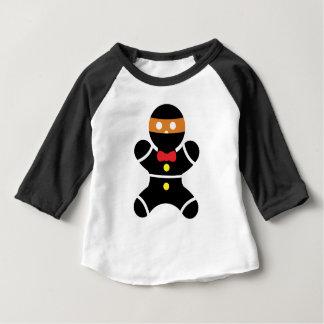 Gingerbread Ninja 2a Baby T-Shirt