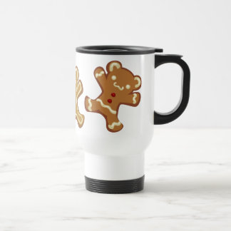 Gingerbread Panda Mug Portable