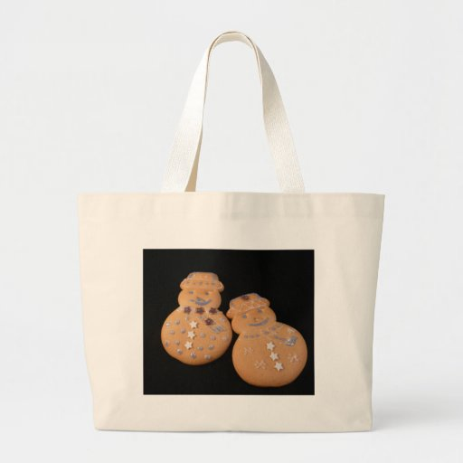 Gingerbread People Canvas Bags
