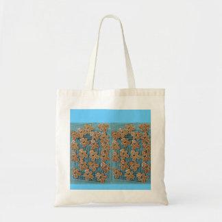 Gingerbread people budget tote bag