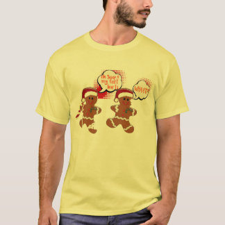 gingerbread snap cookie funny christmas shirt