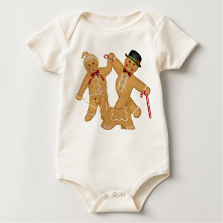 Gingerbread Trio Baby Bodysuit