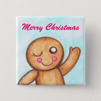 Gingerbread Wink Button