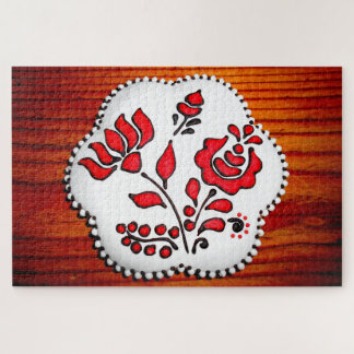 Gingerbread With Hungarian Motifs Jigsaw Puzzle