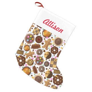 Gingerbread World Small Christmas Stocking