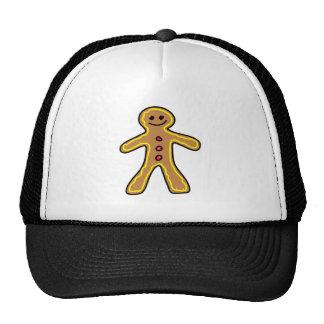 gingerbreadman mesh hats