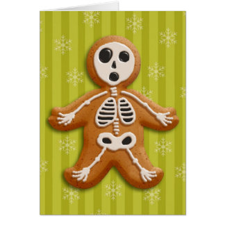 Gingerdead Man (acid) Card