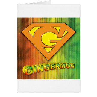 Gingermon Card
