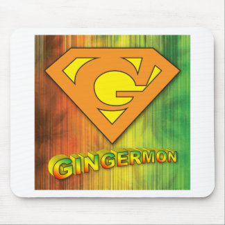Gingermon Mouse Pad