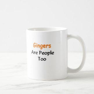 Gingers Are people too Coffee Mug