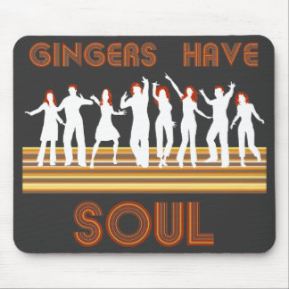 Gingers have Souls Train Mouse Pad