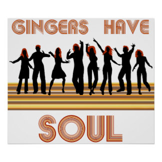 Gingers have Souls Train Poster