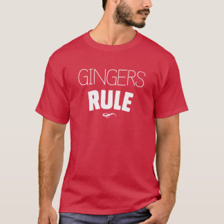 Gingers Rule T-Shirt