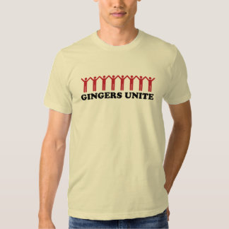 Gingers Unite Shirts