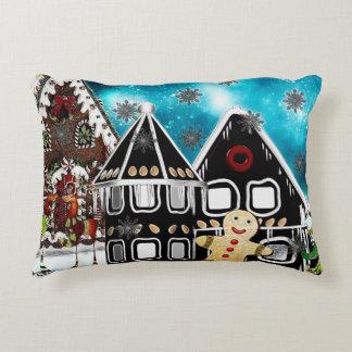 GingerVille Christmas Folk Art MIX Accent Pillow